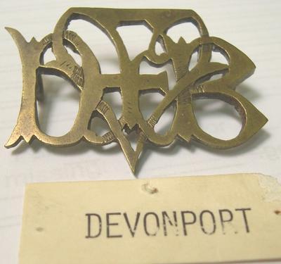Badge [Devonport Municipal Fire Brigade]