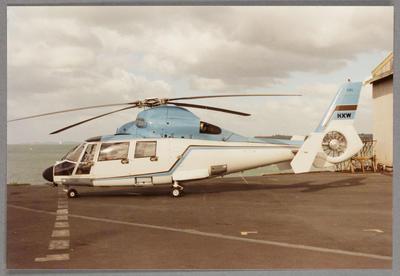 5/11/88 Mechanics Bay [ZK-HXW Aerospatiale SA365N]