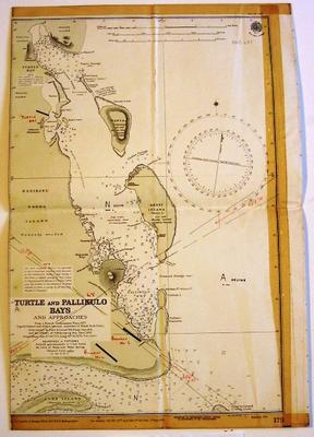 Map of Santo Island