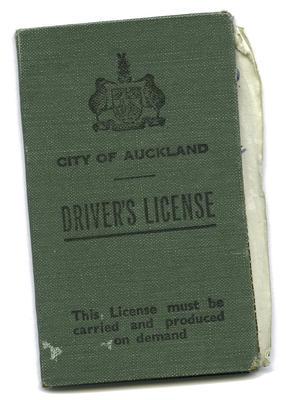 [Licenses of Gilbert H. Elliot]