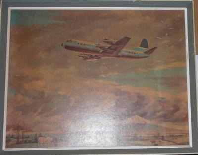 TEAL Lockheed Electra ZK-TEA