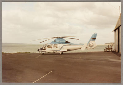 ZK-HXW Aerospatiale SA365N Mechanics Bay