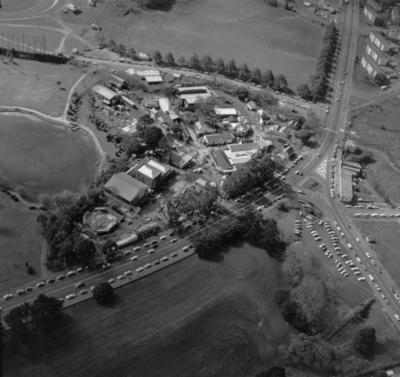 Western Springs site : aerial view