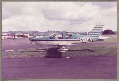 ZK-TBA Aerospatiale TB-9 Tampico 1.12.84 Ardmore