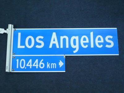 Street Sign [Los Angeles]