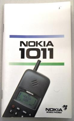 Nokia 1011 Mobile Phone User Guide