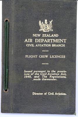 [Private pilot license for David Frederick McKeogh]