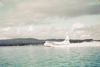 [TEAL Solent taking off from Satapuala, Samoa]