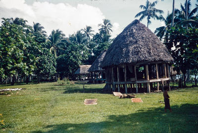 [Samoan house]