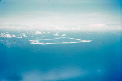 [Palmerston Island from the air]