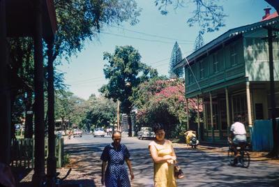 [Street scene Papeete]