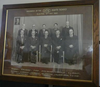 Members of the ATB eighth board elected 21st May 1955
