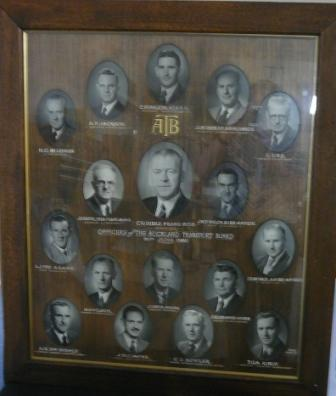 Officers of the Auckland Transport Board 30th June 1956