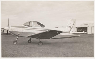 Ardmore 26.7.68 [ZK-CWD ASEL Airtourer 115]