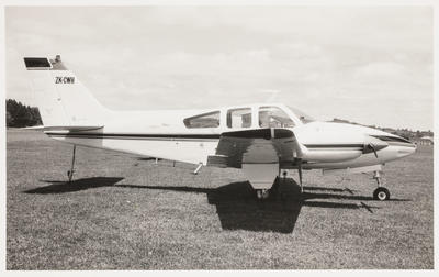 12.12.72 Ardmore [ZK-CWH Beech B55 Baron]