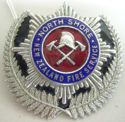 Badge [North Shore NZFS]