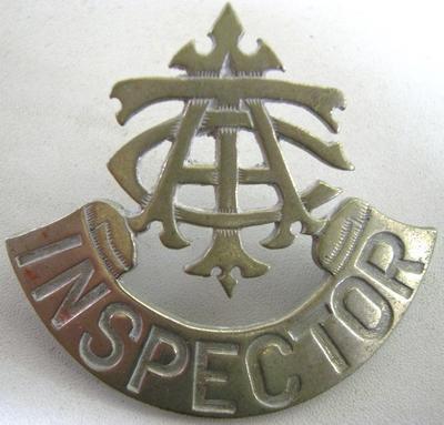 Badge [Inspector ATC (Auckland City Tramways Corporation)]