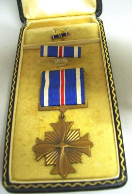 Distinguished Flying Cross Medal with Bar and Pip