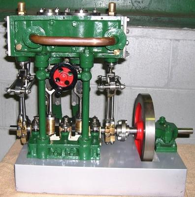 Model Marine Steam Engine