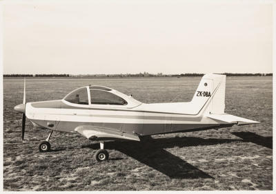 22.3.70 Timaru [ZK-DBA AESL Airtourer 115]
