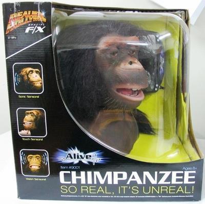 Toy [Robotic Chimpanzee Head]
