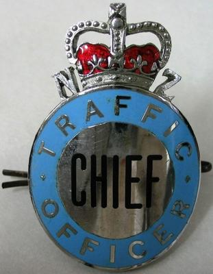 Hat Badge [Chief Traffic Officer]