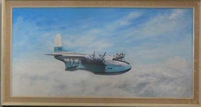 RMA Aranui in flight