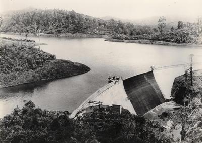 Waitakere dam 1917