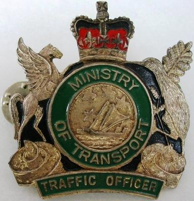 Badge [Ministry of Transport Traffic Officer]