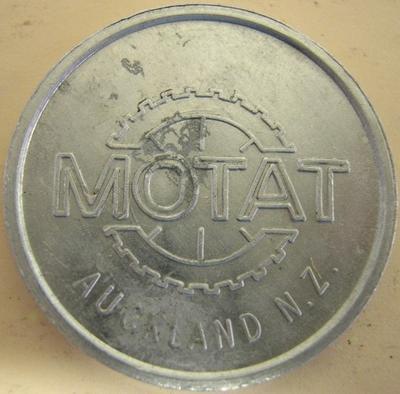 Commemorative Coin [MOTAT, Auckland, NZ]