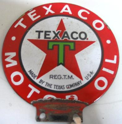 Sign [Texaco Motor Oil]