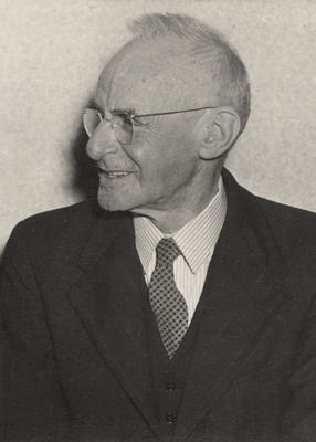 Photograph of Leo Walsh as an old man