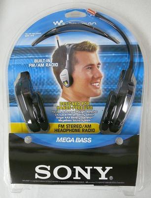Radio Headphone [Sony Walkman SRF-H4]