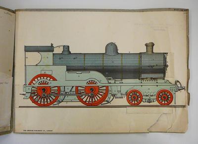 Modern railway working: locomotive engine