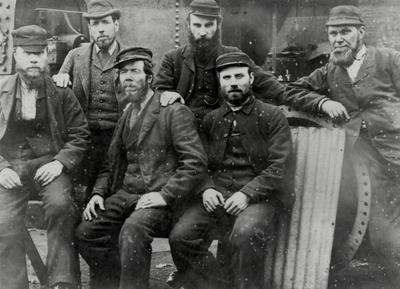 Workers from John Keys & Sons