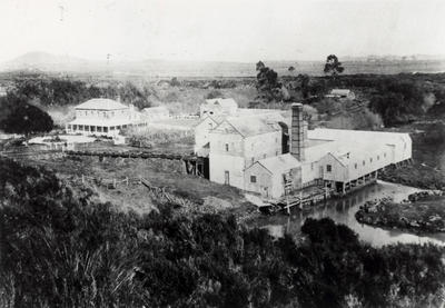 Low & Motions flour mill, 1870s