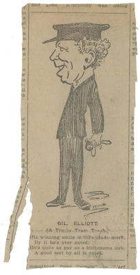 [Caricature of Gilbert Elliot]