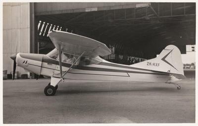 [ZK-AXF Auster J/1B Aiglet photograph]