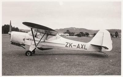 [ZK-AXL Auster J/1B Aiglet photograph]