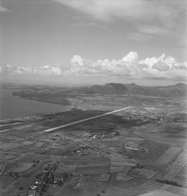 Aerial view of Nadi airport