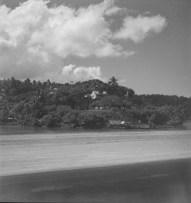View of Tahiti coastline