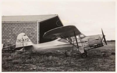 [ZK-AYO Auster J/1B Aiglet photograph]