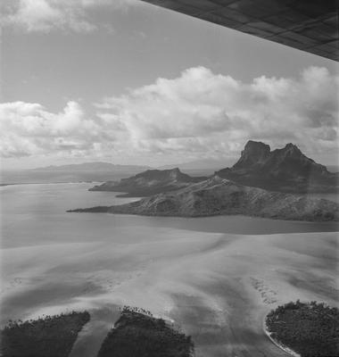 Aerial view of Borabora