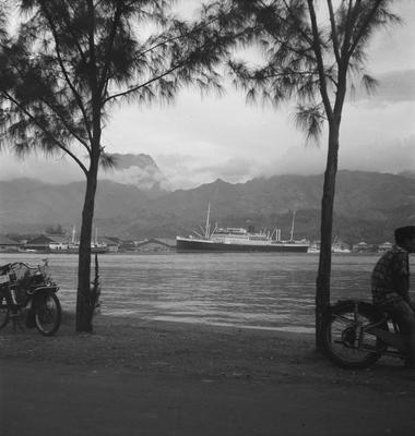 Papeete harbour