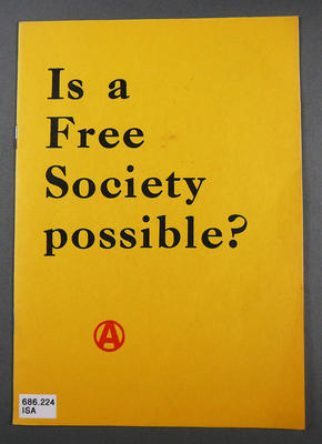 Is a free society possible?