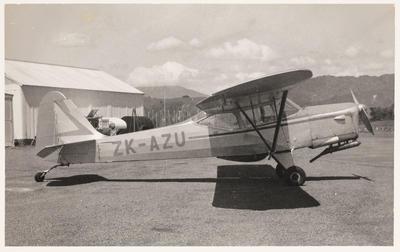 [ZK-AZU Auster J/1B Aiglet photograph]