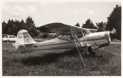 [ZK-BCK Auster J/5F Aiglet Trainer photograph]
