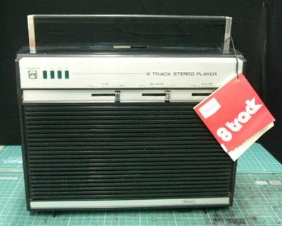 Sears 8 Track Cassette Player