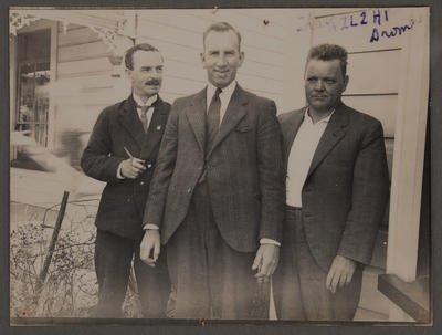 L E Birch, with Messrs  Easthope and Blackwood, 1930s