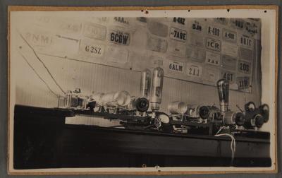 Radio room, early 1930s